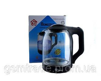 Электрочайник Domotec MS 8210 с подсветкой Черный (R0106)