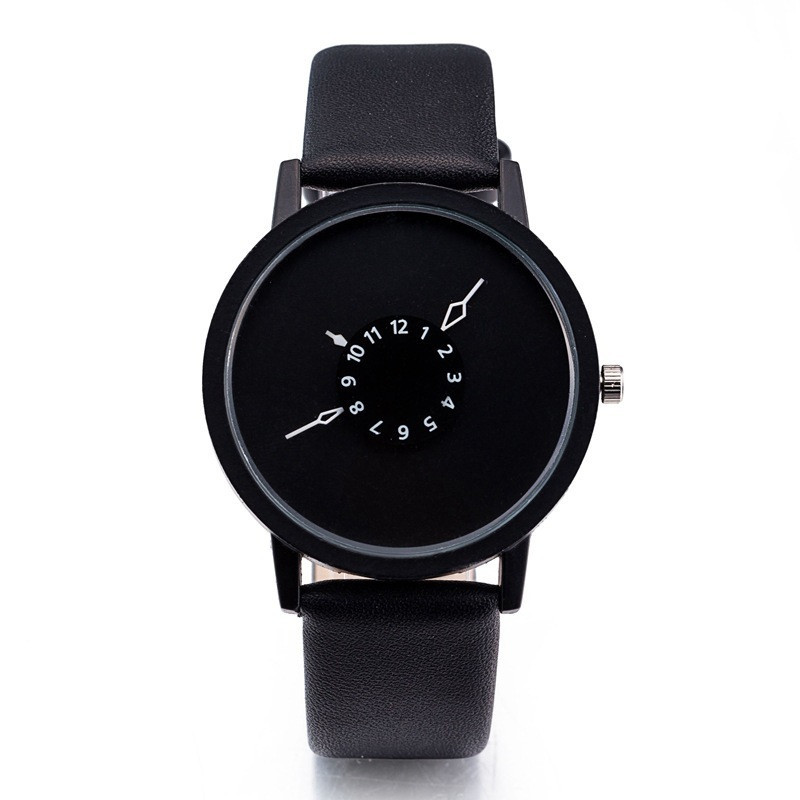 Наручний годинник, Повністю чорний, Унісекс