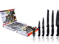 Набір Ножів З Нержавіючої Сталі 6 Предметів В Наборі Товарpeterhoff PH-22428, фото 1