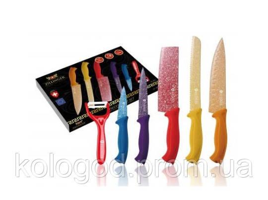Набір Ножів З Нержавіючої Сталі Zillinger ZL-821 6 Предметів В Наборі