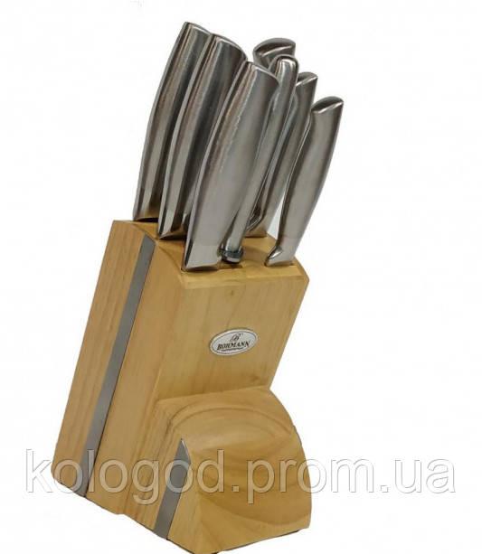 Набор Ножей На Подставке 8 Предметов В Наборе Bohmann BH-5041