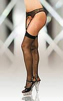 Stockings 5523 - black -  эротическое белье