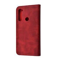 Чохол-книжка для Xiaomi Redmi Note 8 TPU Magnet Red