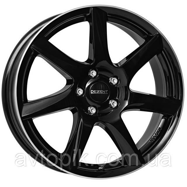 Литые диски Dezent TW R17 W7 PCD5x105 ET42 DIA56.6 (black polished)