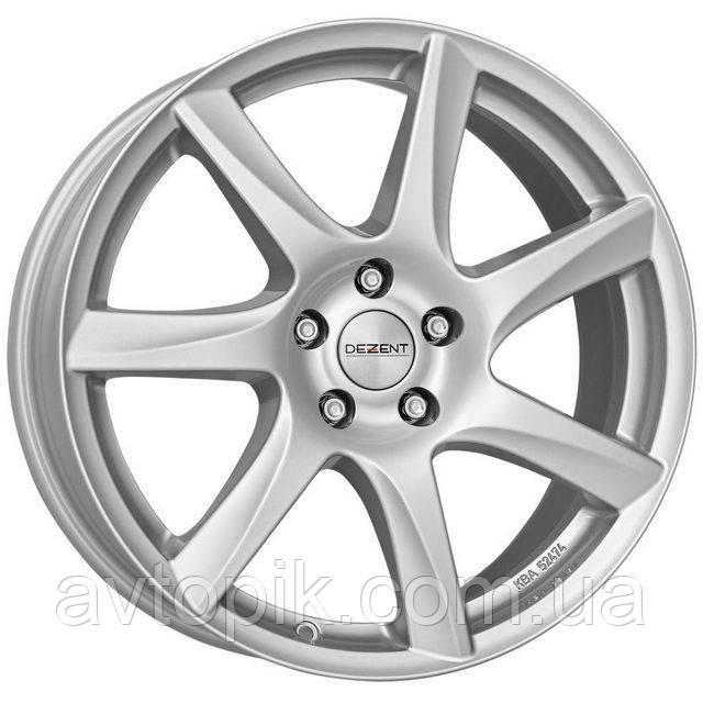 Литые диски Dezent TW R16 W6.5 PCD5x112 ET46 DIA57.1 (silver)