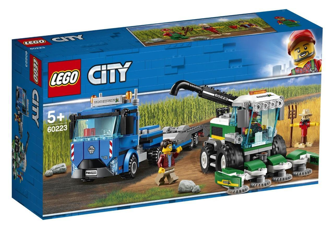 Lego City Транспортировщик для комбайнов 60223