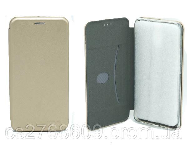 "Книжка ""MANOSS"" slim Xiaomi Redmi Note 5, Note 5 Pro золотий"