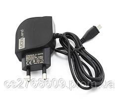 Мережевий зарядний пристрій MOBILAND XD-013 6W 2USB (micro) (5V/1.2A) блістер