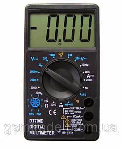 Цифровой мультиметр-тестер DT-700D Черный (R0151)