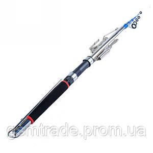Самоподсекающая удочка SUNROZ FisherGoMan 2.7 м Черная (R0180)