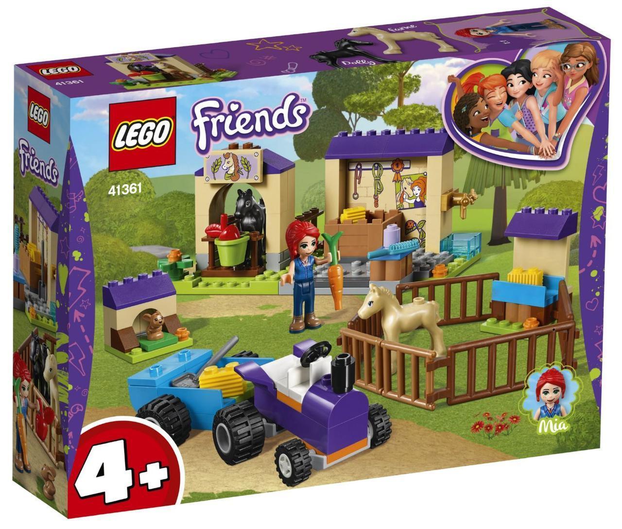 Lego Friends Конюшня для жеребят Мии 41361