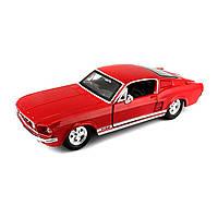 Автомодель (1:24) 1967 Ford Mustang GT красный
