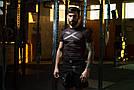 Рашгард с коротким рукавом Leone X-Shirt Black M, фото 3