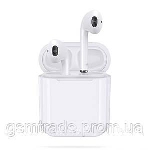 Беспроводные наушники I9s Bluetooth c кейсом + чехол (R0215)
