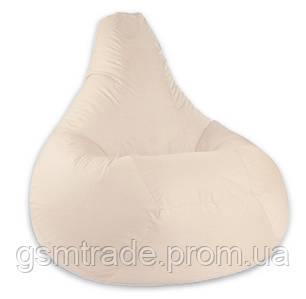 Кресло мешок SOFTLAND Груша для детей M 90х70 см Бежевый (SFLD14)