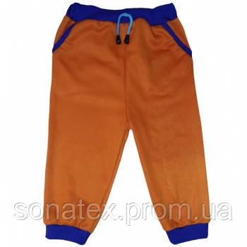 Штанишки оранжевые с карманами, 52 размер