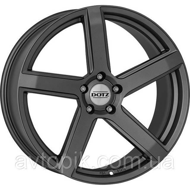 Литые диски Dotz CP5 R17 W8 PCD5x112 ET45 DIA70.1 (matt graphite)