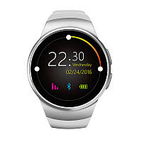 Умные смарт часы Wonlex Smart Watch KW18 cеребро