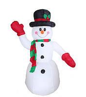 Снеговик надувной высота 2.4 м