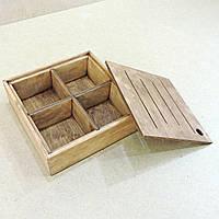"Менажница деревянная ""Тако"" капучино"