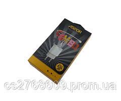 """Мережевий зарядний пристрій + USB """"Aspor"""" A818 plus micro (2.4 iQ) combo (black)"""