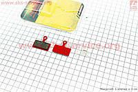 Тормозные колодки диск. тормоз к-кт (Shimano SLX M666, BR-M985, XTR 2011, XT BR-M785), YL-1020