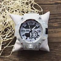 Наручные часы - в стиле Casio G-shock (Белые,Ч-79)