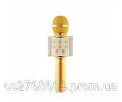 Караоке мікрофон WS-858 (Gold)