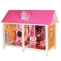 Кукольный большой домик 66882 с аксессуарами