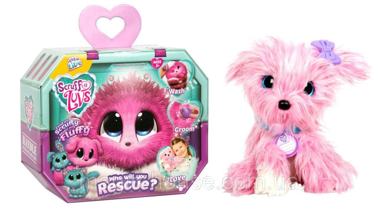 Little Live Няшка Потеряшка питомец сюрприз розовый Pet - Pink