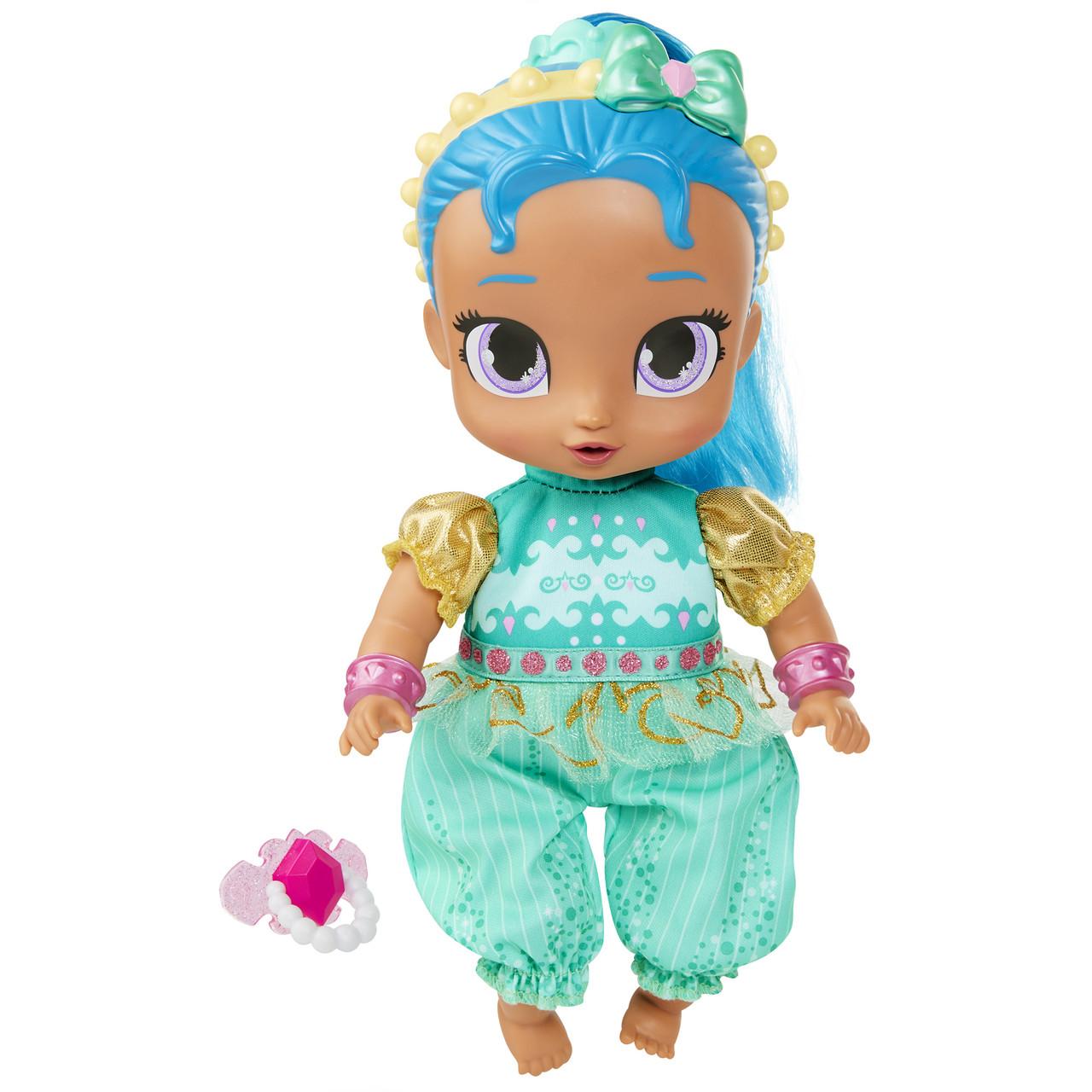 """Fisher-Price Кукла Шайн малышка пупс Shimmer and Shine 10.5"""" Baby Shine Genie"""