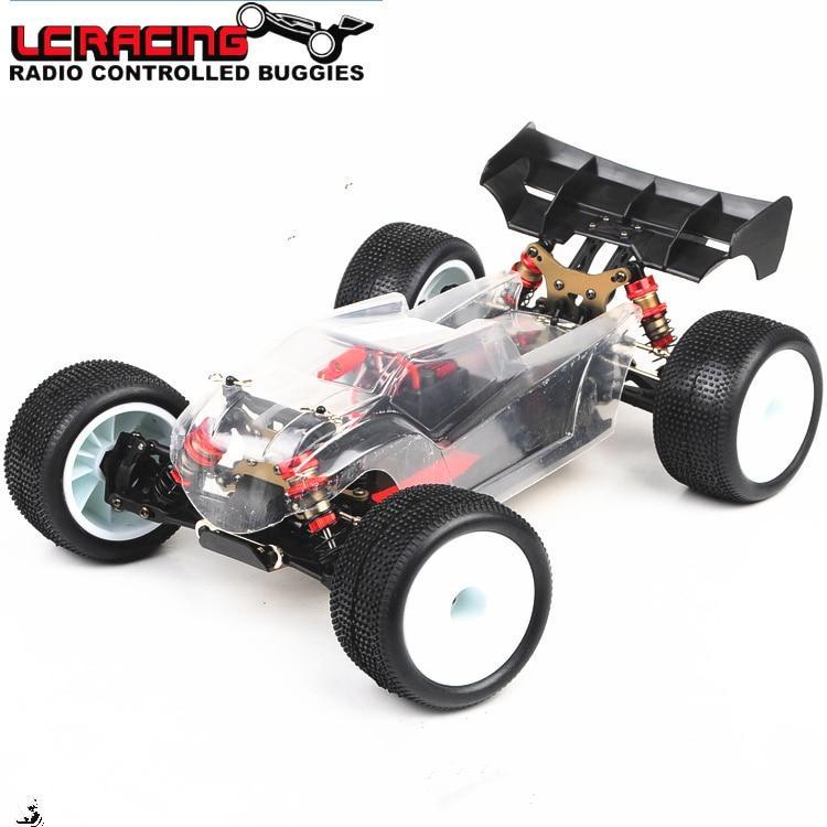 Набір для складання радіокерованої моделі Траггі 1:14 LC Racing TGH (KIT PRO)
