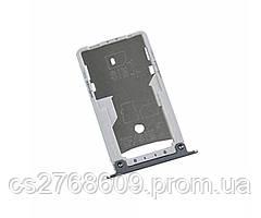 "Sim holder Xiaomi Redmi Note 4x (black) ""Original"""