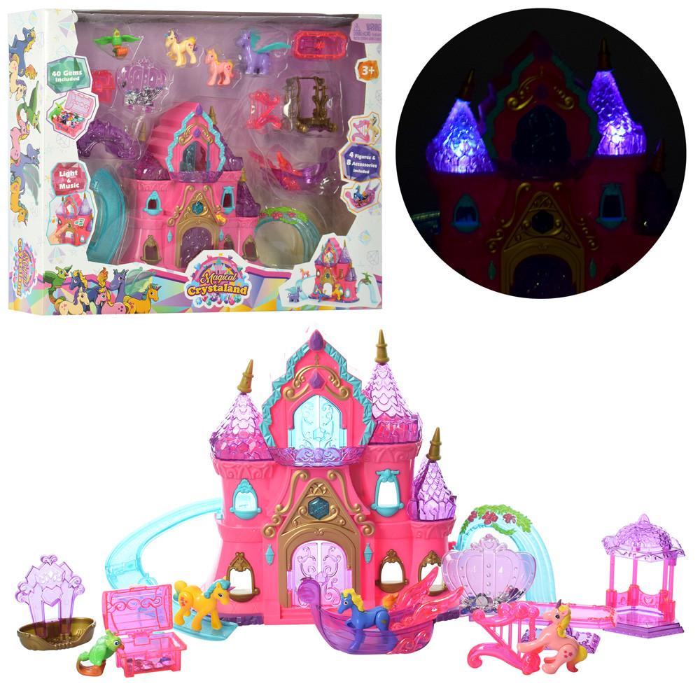 Кукольный замок 1206J-K для принцессы с аксессуарами