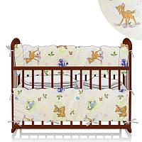 Защита в кроватку Бемби молочный ТМ Беби-Текс - 218879