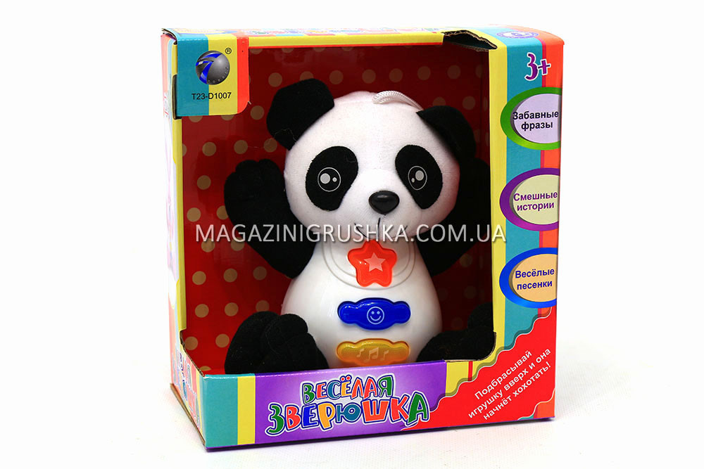 Развивающая игрушка «Веселая зверюшка. Панда»