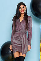 Красивое платье из трикотажного люрекса Натали