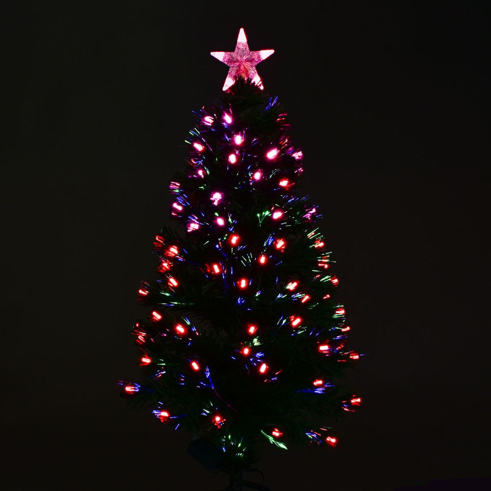 Новогодняя Ёлка 90 см с Led подсветкой 80 веток