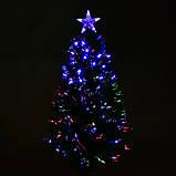 Новогодняя Ёлка 90 см с Led подсветкой 80 веток, фото 2