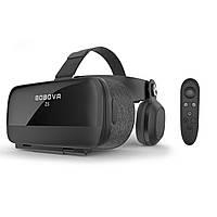 Очки шлем виртуальной реальности Bobo 3D VR Z5 с Наушниками и Пультом ДУ Bluetooth 120°