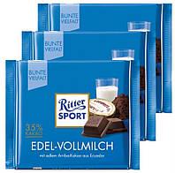 Шоколад Ritter Sport Edel-Vollmilch 100 гр. Германия