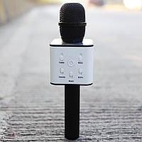Беспроводной портативный микрофон Bluetooth Speaker Q7 Black - 203041