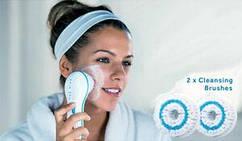 Багатофункціональна електрична щітка для душа масажер для шкіри обличчя тіла Spin Spa 5 в 1