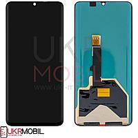 Дисплей Huawei P30 Pro, с тачскрином, Original, Black