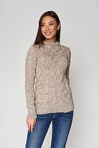 Женский вязаный свитер по фигуре (Эрин mm), фото 3