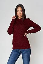 Женский вязаный свитер по фигуре (Эрин mm), фото 2