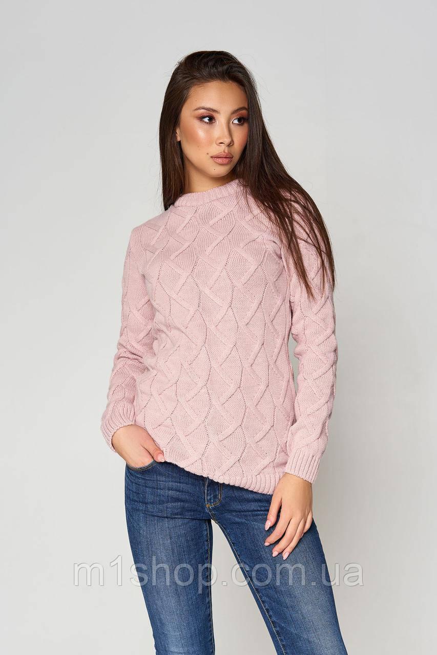 Женский вязаный свитер по фигуре (Эрин mm)