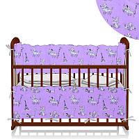 Защита в кроватку Пудель - Розовый ТМ Беби-Текс - 218893