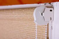 Рулонные шторы из натуральной ткани ШИКАТАН чайная церемония производство под заказ