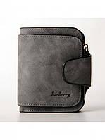 Mini гаманець Baellerry темно-сірий, фото 1
